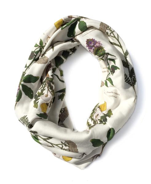 Wild Medicinal Herbs Infinity Scarf