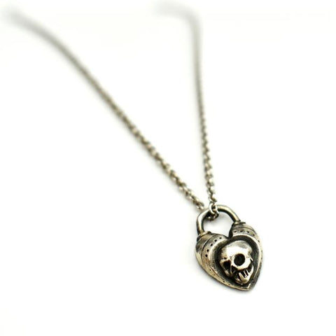 Memento Mori Skull Necklace