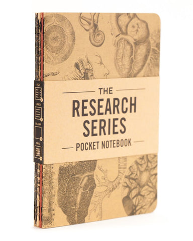 Anatomy Research Series Pocket Notebook Pack