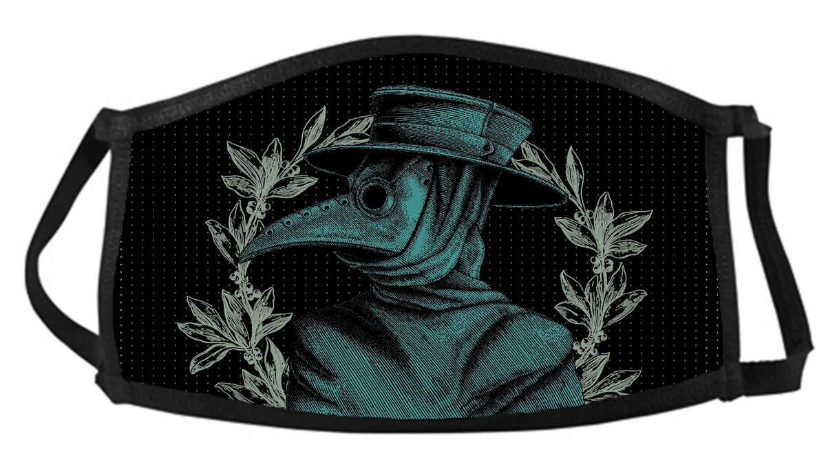 Plague Doctor Face Mask