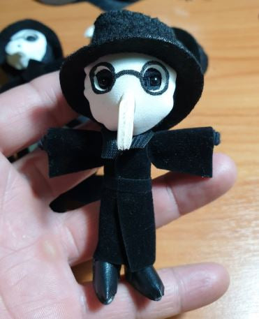 Plague Doctor String Doll