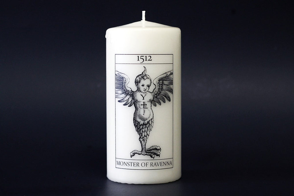 Monster of Ravenna Candle