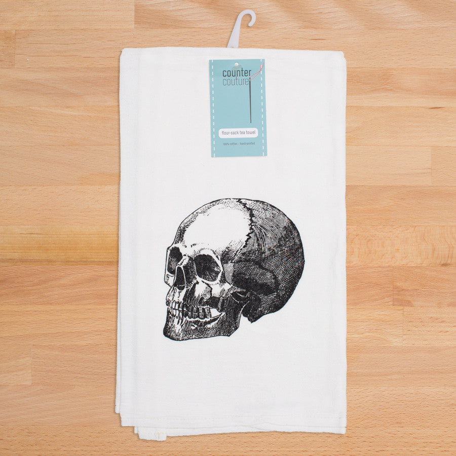 Skull Tea Towel – Mutter Museum Store