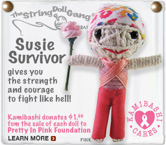 Susie Survivor String Doll Keychain