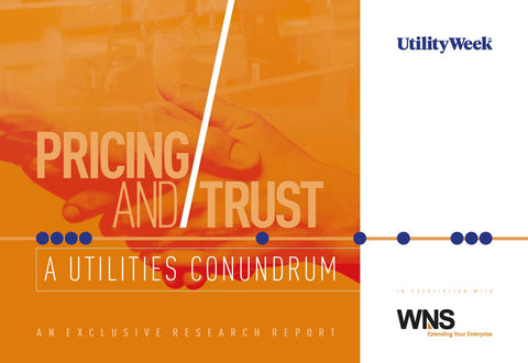 Exclusive report: pricing and trust – a utilities conundrum