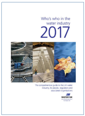 Who's who in the water industry 2017