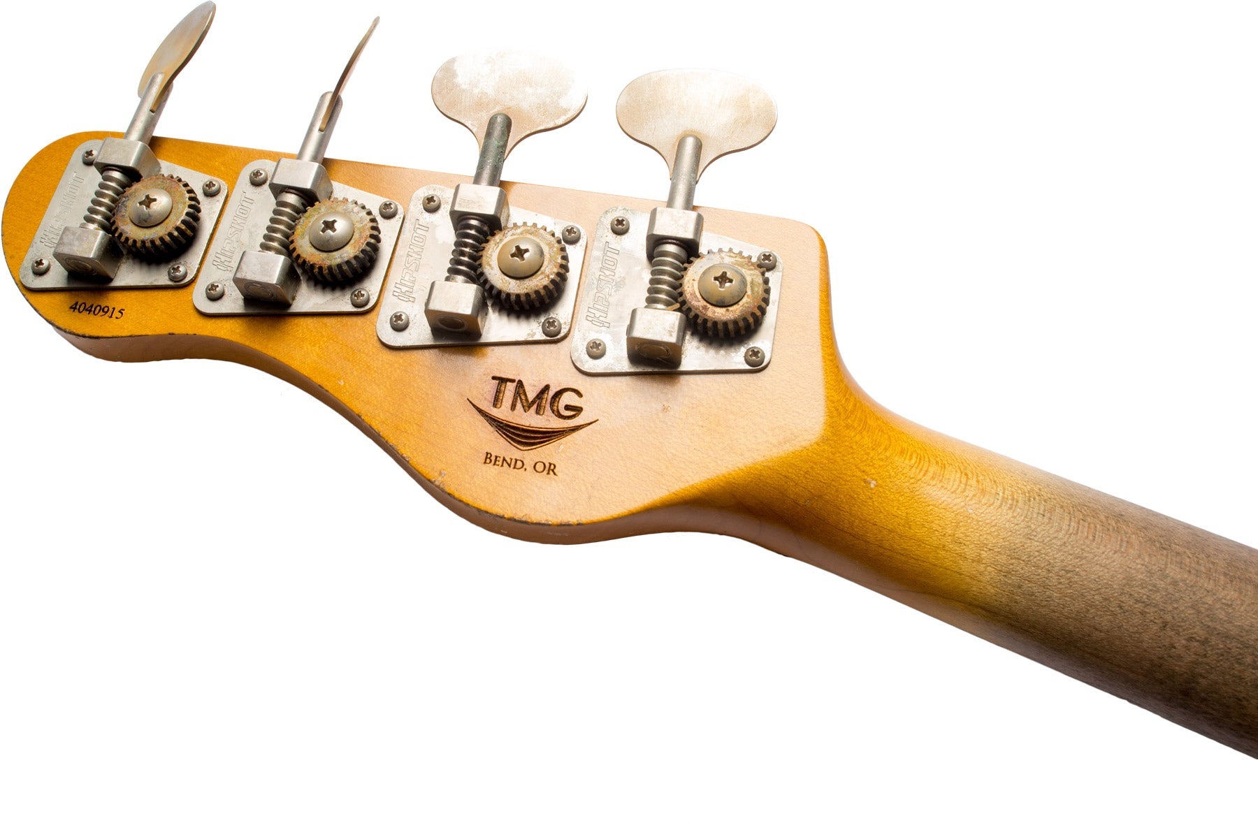 TMG Stetson Neck and Headstock