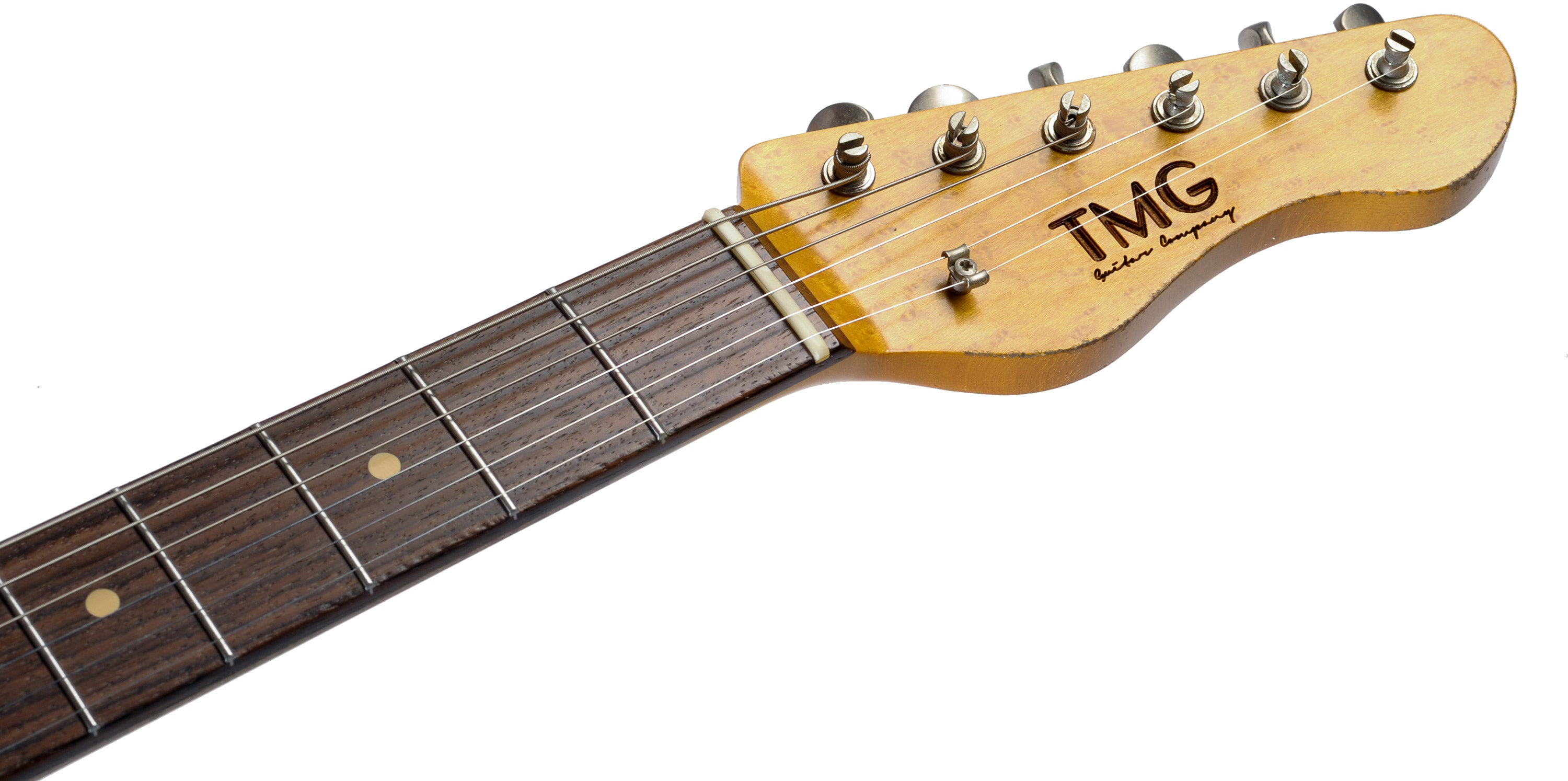 TMG Ronnie Scott Neck and Headstock