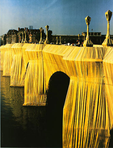 Pont Neuf Wrapped Detail (Photo, 1985)