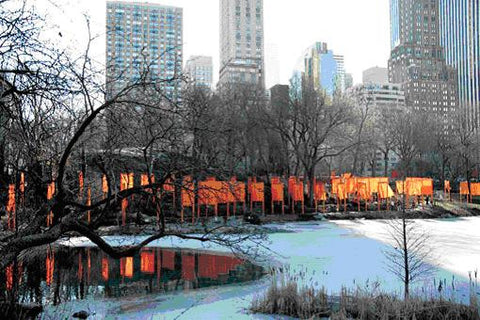 Christo and Jeanne-Claude The Gates, Central Park, New York City 1979-2005