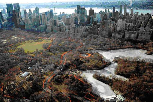 Christo And Jeanne Claude The Gates Central Park New York City 1979 Nurture Nature Foundation
