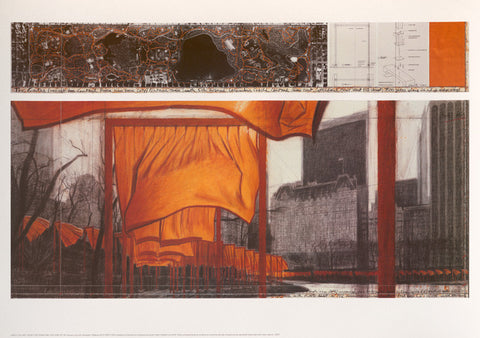 The Gates XIX (Drawing, 2004)