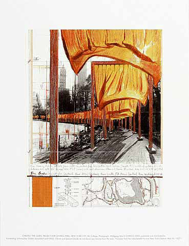 The Gates XXII (Collage, 2004)