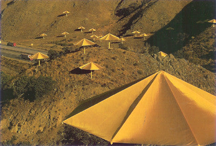 Umbrellas Yellow (Photo, 1991)