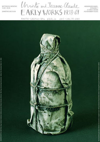 Wrapped Bottle 1958 (Object, 1958)