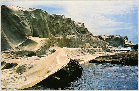 Wrapped Coast (Photo, 1969)