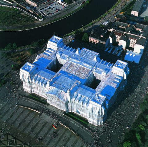 Wrapped Reichstag (Photo, 1995)