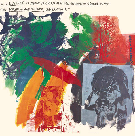 Rauschenberg Painting - Center Banner Image