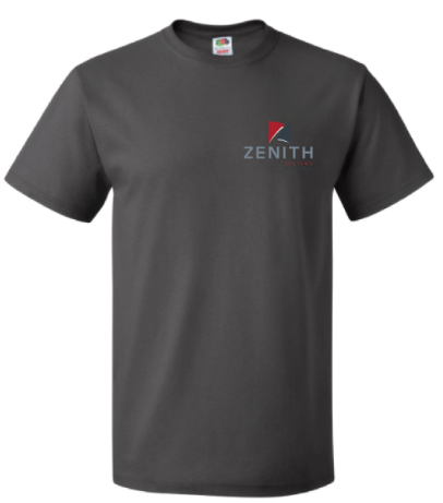 Zenith Short Sleeve T-Shirt - Charcoal Grey