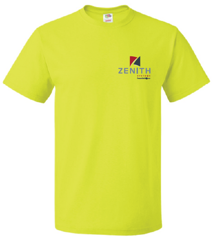 Zenith Short Sleeve T-Shirt - Safety Green