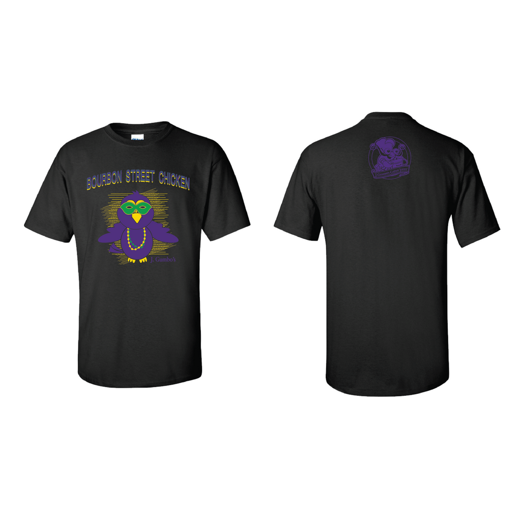J Gumbo's Bourbon Chicken T-Shirts