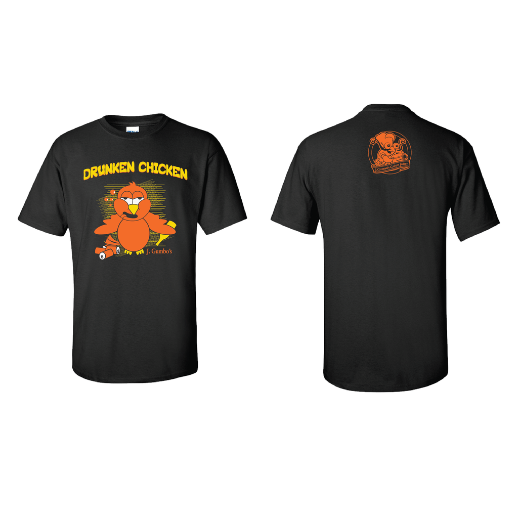 J Gumbo's Drunken Chicken T-Shirts
