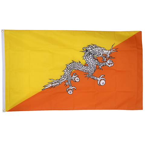 Bhutan 3ft x 5ft Nylon Flag