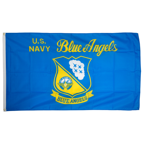 Us Navy Blue Angels 3ft x 5ft Nylon Flag