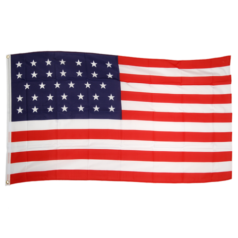 Usa 34 Stars 3ft x 5ft Nylon Flag