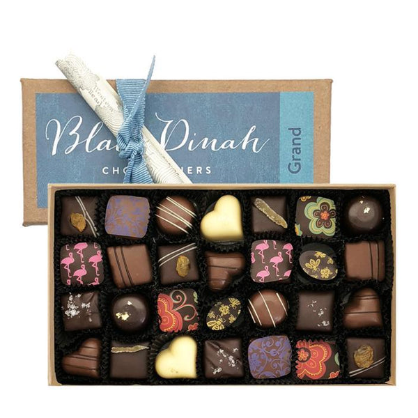 Award Winning Chocolate Truffles Mint and Black Currant