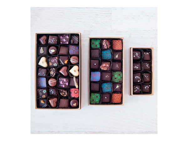 Large Tower Truffle Gift Box, Inside