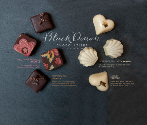 Red and White Wine Pairing Truffles