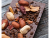 Milk Chocolate Peanuts and Coffee Bark