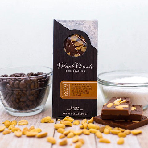 Chocolate Coffee Peanut Bark