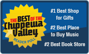 Best of the Chippewa Valley Best Gift Shop, Best place to buy music, Best Book Store