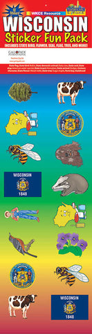 Wisconsin Sticker Pack