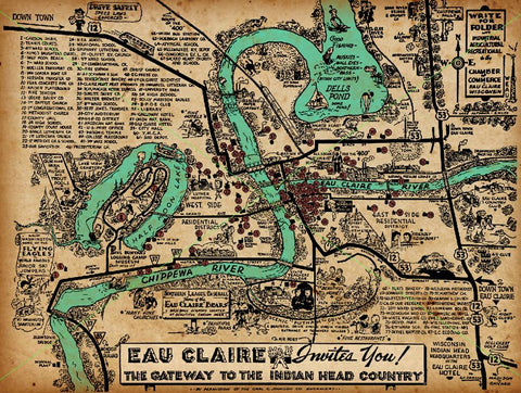 Eau Claire Invites You Print