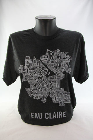 Eau Claire Boundaries Tee (Vintage Black)