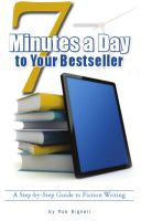 7 Minutes A Day To Your Bestseller