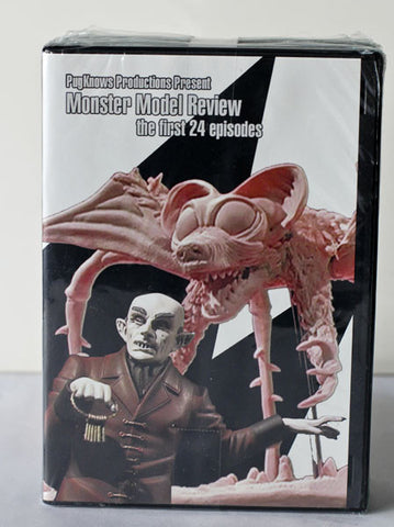 Monster Model Review DVD Pack