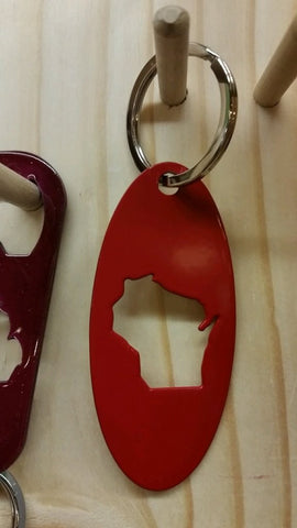 WI Red Steel Keychain