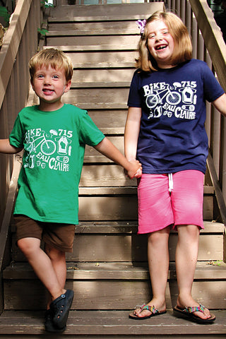 Geared Up Youth Tee Navy