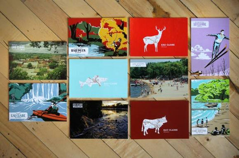 Postcards: 5 for $4.00