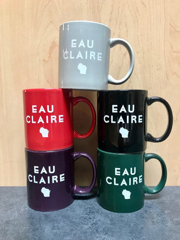 Eau Claire State Mug - Red