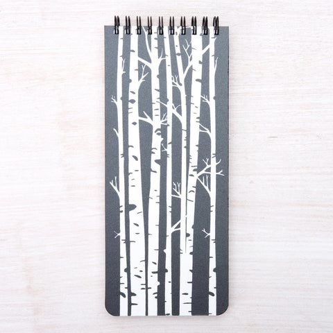 Spiral Notebook - Birch Trees