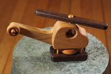 Hower Toys - Helicopter w/ Wheel Wooden Toy