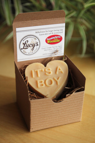 Lucy's Goat Milk Soap - It's A Boy