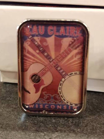 Lapel Pin - Guitar and Banjo