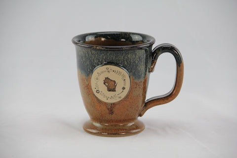 Stoneware - WI Flower Rise & Shine Mug - Copperhead Run