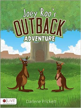 Joey Roo's Outback Adventure Coloring Book